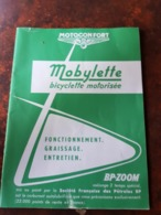 NOTICE MOBYLETTE MOTOBECANE 1973 Concession à Aubenas Ardeche - Moto