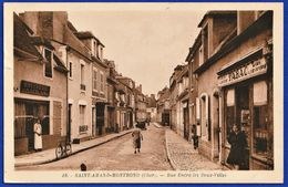 CPA 18 SAINT AMAND MONTROND (Cher) - Rue Entre Les Deux-Villes - Saint-Amand-Montrond