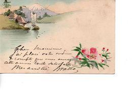 CP Colorisée Du JAPON Avec Timbre 1912 - Giappone