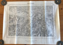 Carte 1/50000 - ARGELES - GAZOST - 1955 - Carte Topografiche