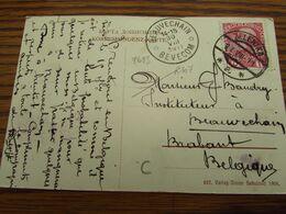 RELAIS DE BEAUVECHAIN / BEVECOM (1911) - Sterstempels