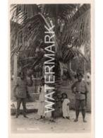 BRITISH EMPIRE EXHIBITION 1924 MALAYA PAVILION OLD R/P POSTCARD COCONUTS - Expositions