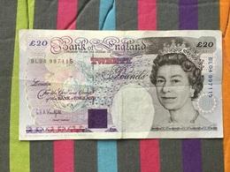 GRANDE BRETAGNE Billet De 20 Pounds - 20 Pounds
