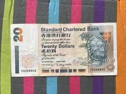 HONG KONG Billet De 20 Dollars - Hongkong