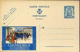 56026 Belgium,  Stationery Card Entier Publibel 595 La Royale Belge  50c. - Stamped Stationery