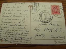 RELAIS DE BORSBEECK (ANTW.) (bilingue) (1920) - Postmark Collection