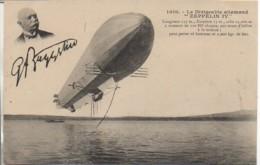 """Ballon Dirigeable Allemand """"Zeppelin IV"""" - Dirigeables"""