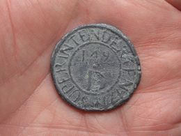1749 Superintendenten D.149 - ARMEN SCHAMELEN HUYS MECHELEN ( 18,4 Gr. / 33 Mm./ Voir Scan ) Lood ! - Bélgica