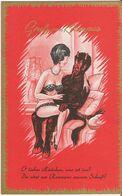 Krampus 18, Kleinformat - 9x14, Gruss Vom Krampus - Sehr Schöne Farbkarte, Nicht Gelaufen! - Nus Adultes (< 1960)