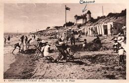 St Saint Brévin L'Océan - Un Coin De Plage, Le Casino - Edition Combier - Carte CIM N° 6 - Saint-Brevin-l'Océan