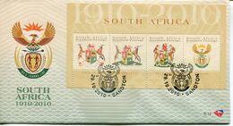 South Africa Südafrika Offizieller/official FDC # 8.12 - Heraldic - FDC