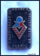 Pin's CHAMPIONNAT DU MONDE DE  VOLLEY-BALL - France - Volleybal