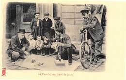 Paris Pittoresque Légende Rouge Künzli - Le Camelot, Marchand De Jouets - Cecodi N'A 176 - France
