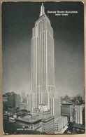 CPA Etats-Unis > NY - New York City - The Art Deco Empire State Building - Empire State Building