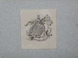 Ex-libris Illustré XIXème - BELGIQUE - BLOMMAERT - Ex Libris