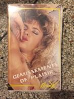 Ancienne Casette Video VHS Gemissements De Plaisir Porno Vintage - Erotiques (…-1960)
