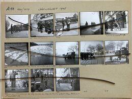 13 PHOTOGRAPHIES. LYON. JUIN-JUILLET 1944. Retour Des Prisonniers. Le Permissionnaire, La Plage Baignade Dans Le Rhone - Luoghi