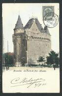 +++ CPA - BRUSSEL - BRUXELLES - Porte De Hal - Musée - Couleur 1903  // - Musei
