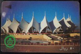 KINGDOM OF SAUDI ARABIA - 100 Riyals - Modern Stadium - Arabia Saudita