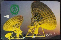 KINGDOM OF SAUDI ARABIA - 100 Riyals - Satellite Dishes - Arabia Saudita