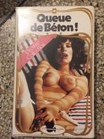 Ancienne Casette Video VHS Queue De Beton Porno Vintage - Erotiques (…-1960)