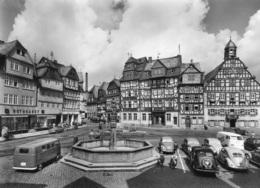 VW Käfer Brezel,Bus T1,Lloyd Alexander,Opel Kapitän,Butzbach,Marktplatz, Ungelaufen - Turismo