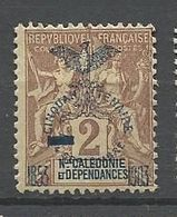 NOUVELLE CALEDONIE N° 81 NEUF*  CHARNIERE  / MH - Neufs