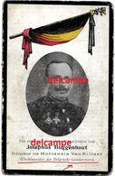 Oorlog Guerre Joseph Buggenhout Wolvertem Rijkswacht Gendarmerie Gesneuveld Te Nieuwpoort 1917 Soldaat Wolverthem - Images Religieuses