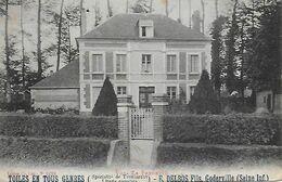 76)  GODERVILLE  - Villa La Ferdette - Toiles En Tous Genres E. BELBOS Fils - Goderville