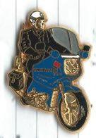 Motard Gendarmerie Nationale Moto Lot 2 Pins - Polizia