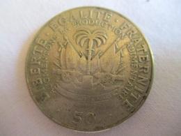 Haïti: 50 Centimes 1975 - Haiti