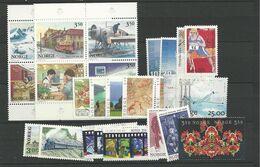 1996 MNH Norwegen, Year Complete According To Michel, Postfris - Ganze Jahrgänge
