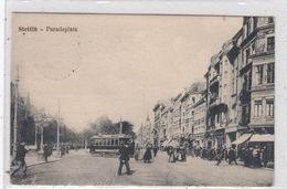 Stettin Paradeplatz. - Polen