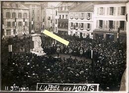 PONT AUDEMER 27 - Inauguration Du Monument Aux Morts Place Du Vieux Marché (Louis Gillain) 11 Nov.1920 L'appel Des Morts - Luoghi