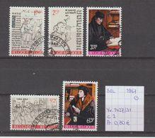 België 1967 - Yv./OCB 1427/31 Gest./obl./used - Belgium