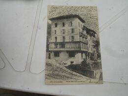 Cpa 75 Splendid Hotel Saint Gervais Les Bains - Saint-Gervais-les-Bains