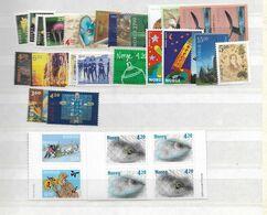 2000 MNH Norwegen, Year Complete According To Michel, Postfris - Ganze Jahrgänge