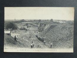 CPA - N° 19-Segré - (M Et L) Le Chantier D'exploitation Du Minerai De Fer - Artaud Et Nozais, Nantes- Oblitérée En 1917 - Mijnen
