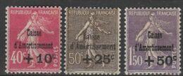 FRANCE 1930, Mi# 252-254, Art, MH - Nuevos