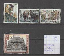 België 1968 - Yv./OCB 1474/77 Gest./obl./used - Belgium