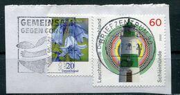 Deutschland Michel-Nr. 3315, 3552 Vollstempel Auf Briefstück - [7] Federal Republic