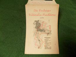 VINTAGE GERMANY: FREIBURG  Motor Coach Souvenir NOT PC - Freiburg I. Br.