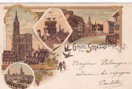 CPA/727.........GRUSS AUS STRASSBURG - Strasbourg