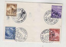 SLOVENIA,GERMANY WW II,1941 MOJSTRANA,PTUJ,MARIBOR ,BLED   Nice Cover - Slovenia