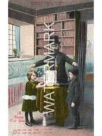A HAPPY NEW YEAR OLD COLOUR POSTCARD JEWISH NEW YEAR WILLIAMSBURG ART CO NEW YORK - Judaísmo