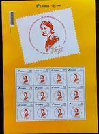 BRAZIL Stamp Personalized PB 159 COREN Bahia Florence Nightingale Nurse Health 2020 Sheet G - Unused Stamps