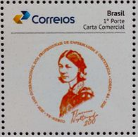 BRAZIL Stamp Personalized PB 159 COREN Bahia Florence Nightingale Nurse Health 2020 - Unused Stamps