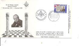 Churchill - Franc-Maçonnerie ( Commémoratif Des Pays-Bas De 1965 à Voir) - Sir Winston Churchill
