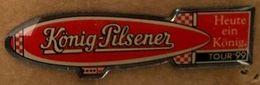 BIERE -KÖNIG PILSENER - TOUR '99 - HEUTE EIN KÖNIG - ZEPPELIN - BEER - BIRRA - CERVEZA - BIER -  (26) - Bierpins