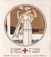 Edmund Dulac 2 Vignettes Victory Et Hope - Erinnophilie